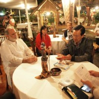 The meeting of Anand Krishna with Sri Sultan Hamengku Buwono X