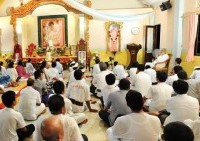 Second Visit of Anand Krishna to Sai Pooja Ashram