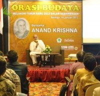 Cultural Talk Show with Anand Krishna in Salatiga
