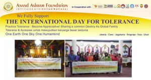 Anand Ashram, International Day for Tolerance